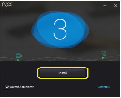 Nox-Install-screen